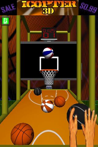 Screenshot 3D Arcade Basketball