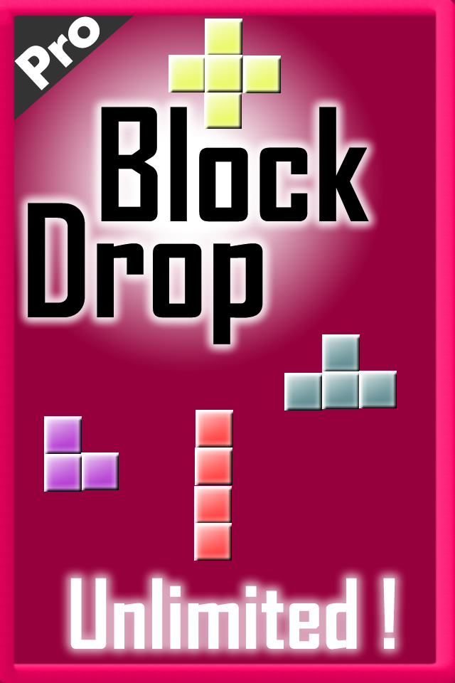 Screenshot Block Drop. Pro