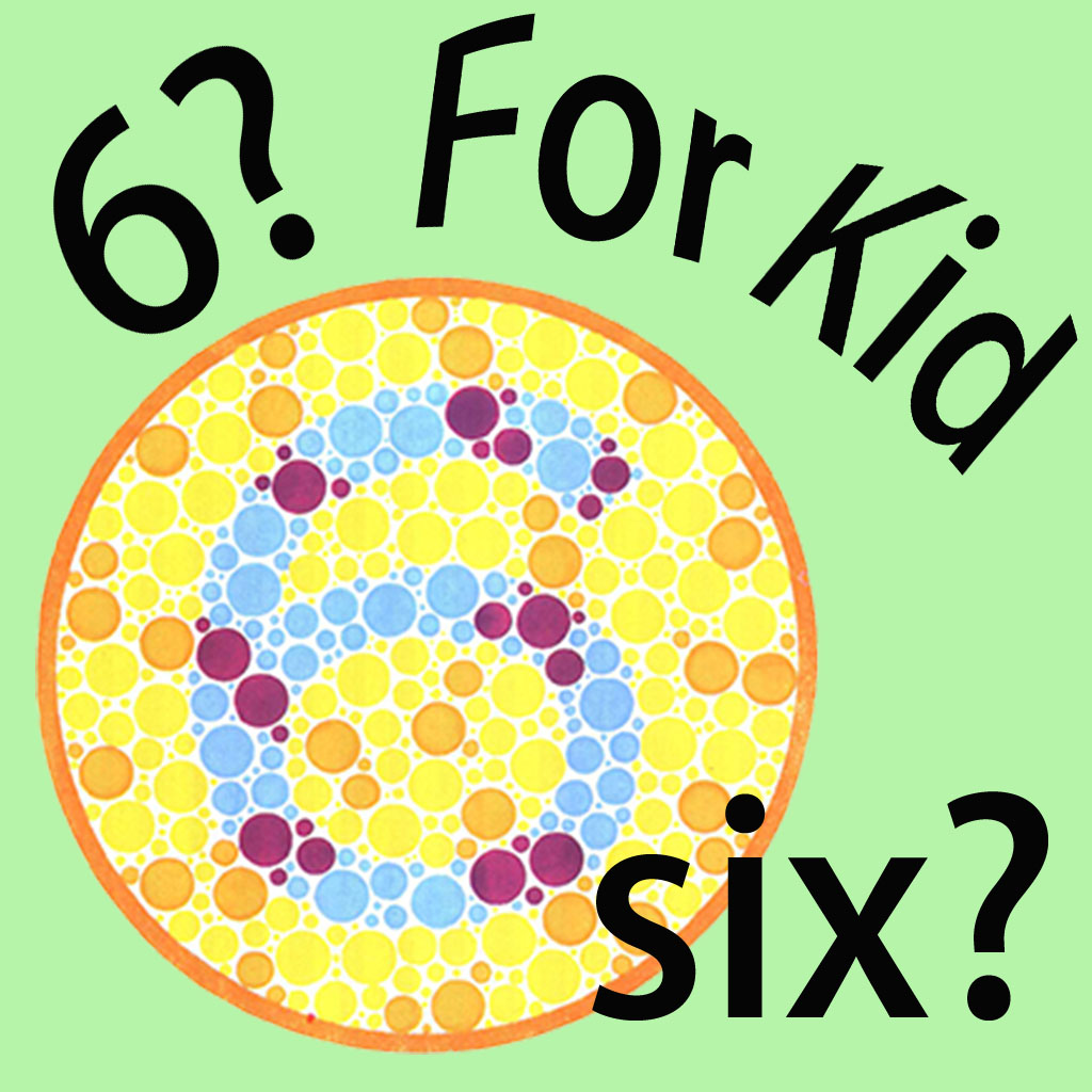 Color Blind Test For Kid | FREE iPhone & iPad app market